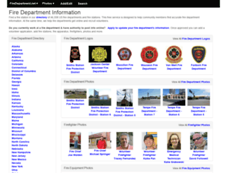 firedepartment.net screenshot