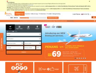 fireflyholiday.com screenshot