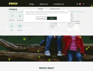 fireflytoothbrush.com screenshot