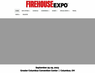 firehouseexpo.com screenshot