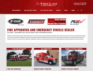 firelineequipment.com screenshot