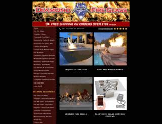 firepitglasscrystals.com screenshot