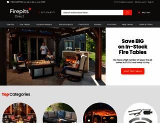 firepitsdirect.com screenshot