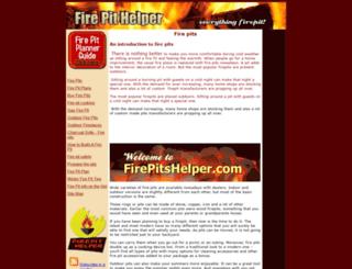 firepitshelper.com screenshot