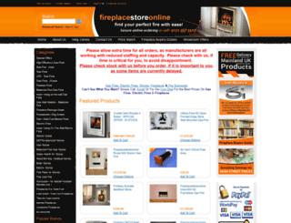 fireplacestoreonline.com screenshot