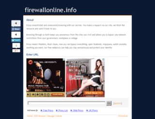 firewallonline.info screenshot