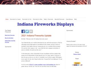 fireworksinindiana.com screenshot