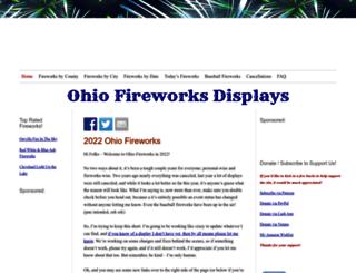 fireworksinohio.com screenshot