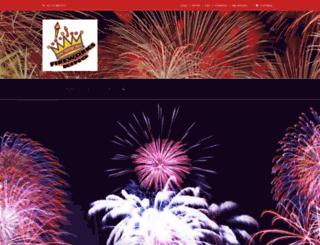fireworksking.co.za screenshot