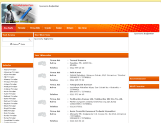 firmaadresler.com screenshot