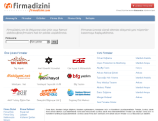 firmadizini.com screenshot