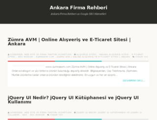 firmaekleankara.blogspot.com.tr screenshot
