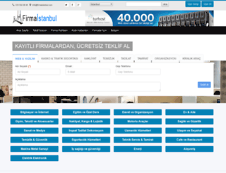 firmaistanbul.com screenshot