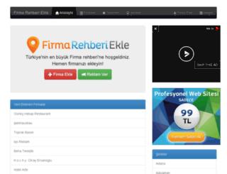 firmarehberiekle.com screenshot