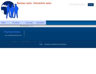 firmenseite.webdesign-passmann.de screenshot