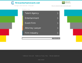 firmentertainment.net screenshot