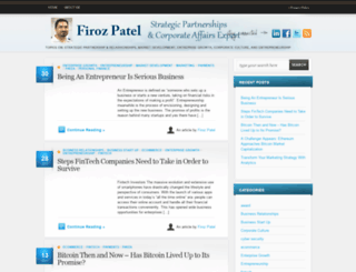 firozpatel.com screenshot