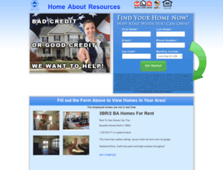 first-access-rent-to-own.com screenshot