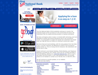 first-national.com screenshot