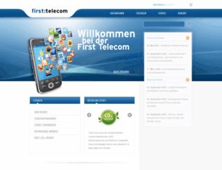 first-telecom.de screenshot