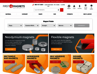 first4magnets.com screenshot