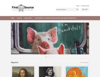 firstartsource.com screenshot