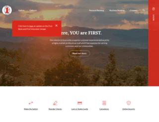 firstbankofdalton.com screenshot