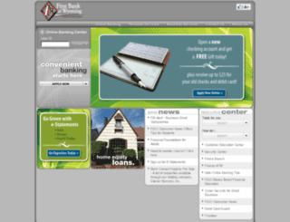 firstbankofwyoming.com screenshot