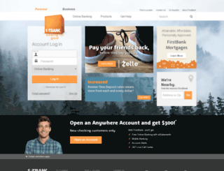 firstbankrewards.com screenshot