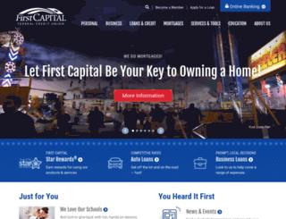 firstcapitalfcu.com screenshot