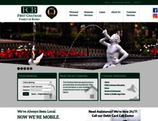 firstchatham.com screenshot