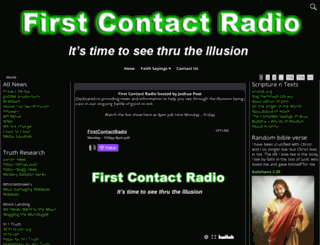 firstcontactradio.com screenshot
