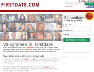 firstdate.fi screenshot