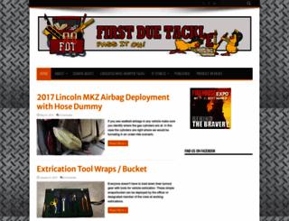 firstduetackle.com screenshot