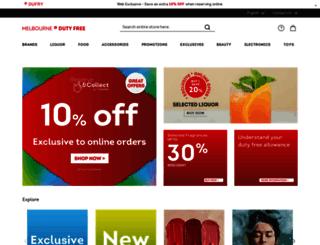 firstdutyfree.com.au screenshot