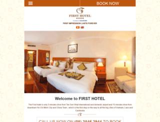firsthotel.com.vn screenshot