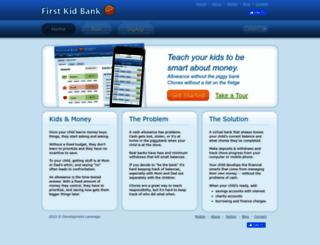 firstkidbank.com screenshot