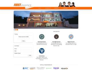 firstlogistics.co.id screenshot