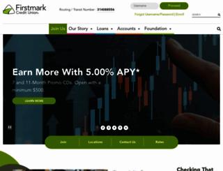 firstmarkcu.org screenshot