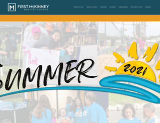 firstmckinney.com screenshot