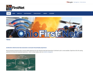 firstnet.ohio.gov screenshot