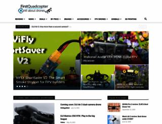 firstquadcopter.com screenshot