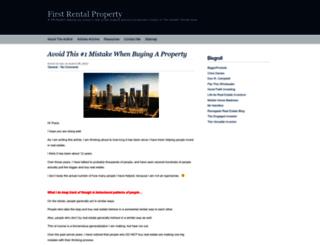 firstrentalproperty.com screenshot