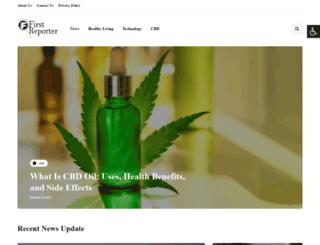 firstreporter.org screenshot