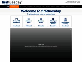firsttuesday.us screenshot