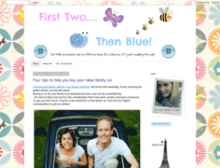 firsttwothenblue.com screenshot
