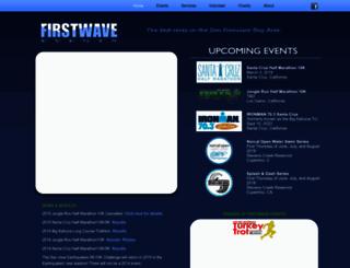 firstwave-events.com screenshot