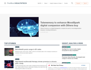 firstwordmedtech.com screenshot