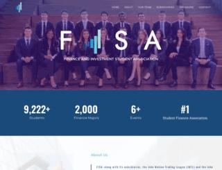 fisaonline.ca screenshot
