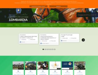 fise-lombardia.it screenshot